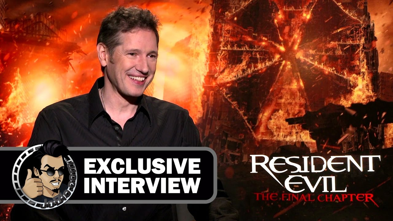 Resident Evil The Final Chapter Interview: Paul W.S. Anderson Exclusive RESIDENT EVIL: THE FINAL