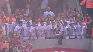 Party der FC Spieler & Fans - Europa League Qualifikation - 1. FC Köln vs. Mainz 05 - 2017