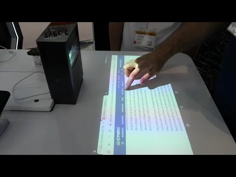 Vsoontech V-Touch table Projector, Pico Projector, Voice Translator
