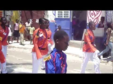 Haiti flag day parade May 18 2012