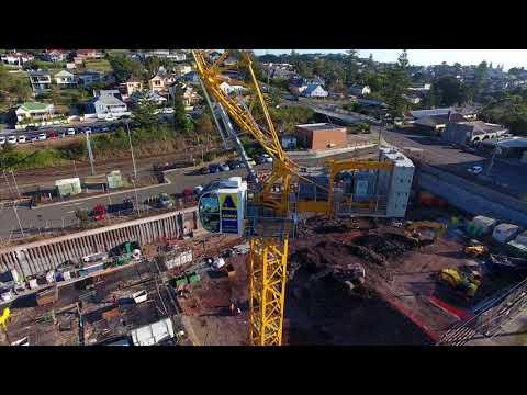 MCH 125 Potain's first topless hydraulic luffing jib tower crane