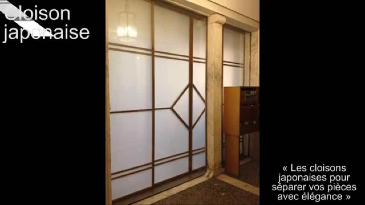 porte coulissante japonaise en sur mesure effet zen wall