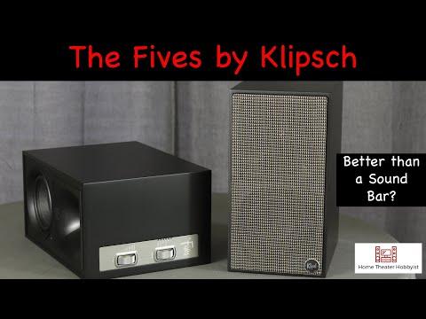 the-fives-by-klipsch-|-powered-bookshelf-speaker-review