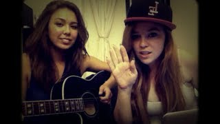 As Long As You Love Me - Justin Bieber Cover by Lily Elise and Julia Harriman