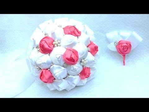 como-hacer-un-ramo-bouquet-de-novia-blanco-con-coral