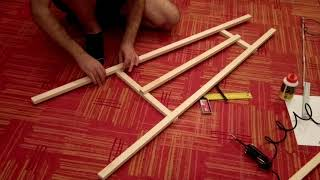 Diy chevalet - how to make a simple chevalet