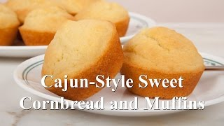 Sweet Cajun Style Corn Bread Or Corn Muffins (med Diet Episode 39)