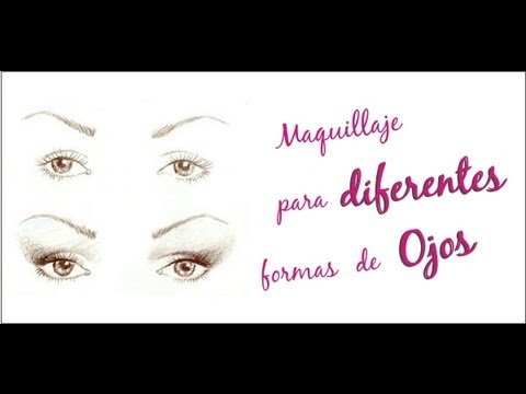 Maquillaje para diferentes tipos de ojos azumakeup for Tipos de estanques para acuicultura