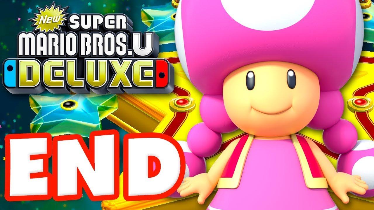 New Super Mario Bros U Deluxe Gameplay Walkthrough Part 9