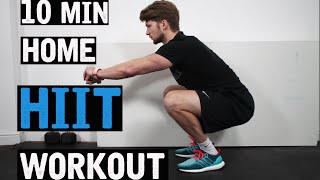 10 MIN HOME HIIT WORKOUT