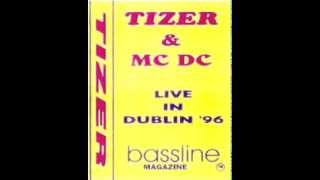 Dj Tizer And Mc. Dc. - Live In Dublin 1996 - (Side A)