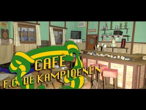 FC De Kampioenen  Maquette 2  Café schaal 120