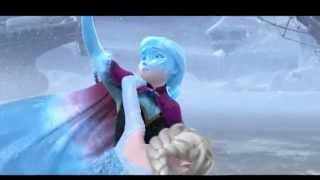 Frozen-Anna save Elsa...
