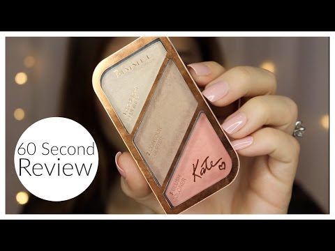 60 Sec. Review: Kate Highlight + Sculpting Kit | Bailey B.