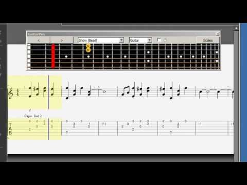 Guitar : river flows guitar tabs River Flows as well as River ...