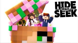VERSTECKT IN BIBI'S KOPF! | Minecraft Hide and Seek