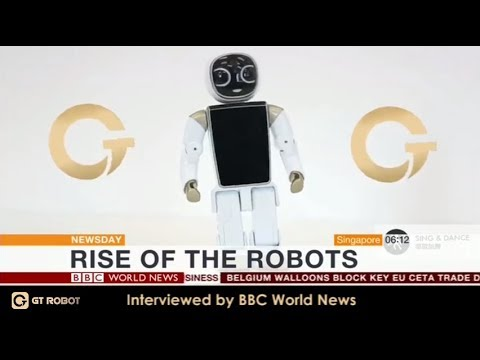 Rise of the Robots - GT Wonder Boy featured live on BBC World News, Newsday_GT Robot