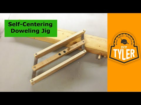 How to make a Self Centering Doweling Jig