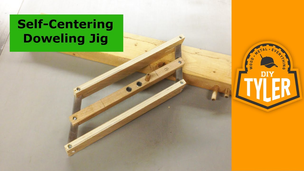 How To Make A Self Centering Doweling Jig Youtube
