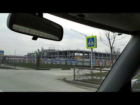 Строительство новой мечети и в начале Грозного - возводят 2-ой(или 3-й?) этаж   март 2020, Чечня