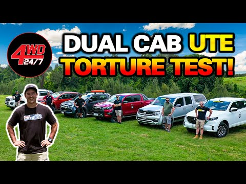 2021 4WD UTE COMPARISON! 6 Dual Cabs Tested - SHOCK WINNER! Experts Expose Truth!