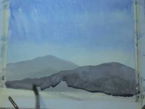 PART 2 - Beginners Watercolour- With Matt Palmer - YOUR FIRST PAINTING - PART 2