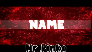 |Intro Template By|Mr.Pinko|Sony Vegas Pro 12,13|#54|BCC, Sapphire|Best Sync|RED|