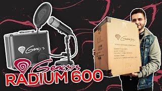 GENESIS RADIUM 600 - UNBOX I TEST - JESTEM NAPRAWDĘ ZASKOCZONY!