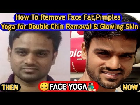 FACE YOGA FOR WOMEN & MEN/How To Remove Face Fat/Double Chin Removal