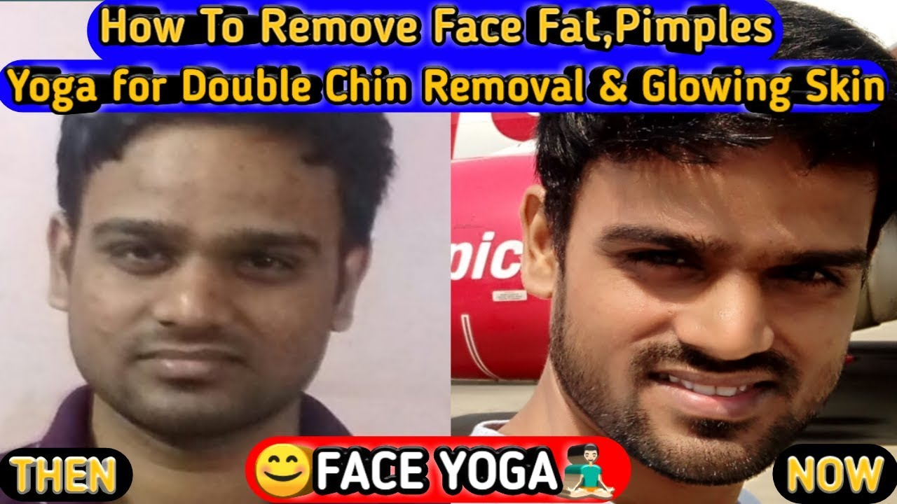 FACE YOGA FOR WOMEN & MEN/How To Remove Face Fat/Double Chin Removal &  Glowing Skin/Anti Aging Skin