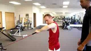 Rear Shoulder / Rotator Cuff Functional Exercise
