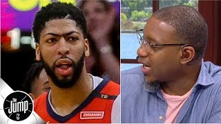 Rich Paul's comments mean Celtics shouldn't trade for Anthony Davis - Tracy McGrady | The Jump