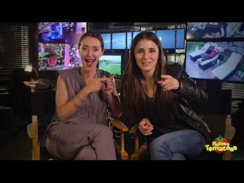 UnReal Set Visit with Constance Zimmer and Shiri Appleby
