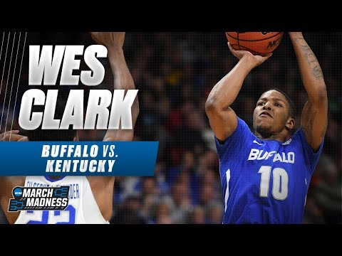 Buffalo\'s Wes Clark dropped 26 points on Kentucky