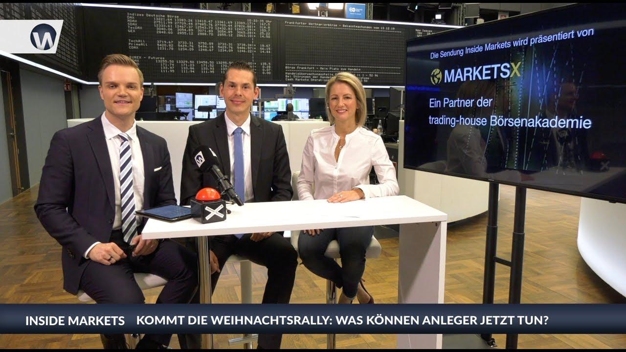 Inside MarketsX: André Stagge über die Weihnachtsrally - Was Anleger jetzt tun können