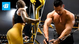 Muscle-Building Chest & Triceps Workout | Maaxx West