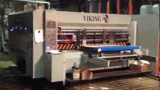 Работа линии VIKING 1300x2400  в ООО
