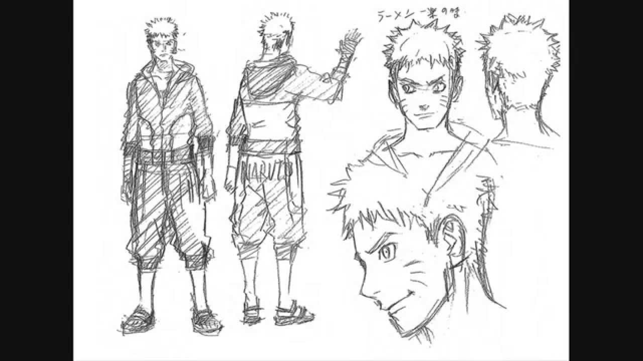 'The Last' : Naruto the Movie - NEW CHARACTER DESIGN ...