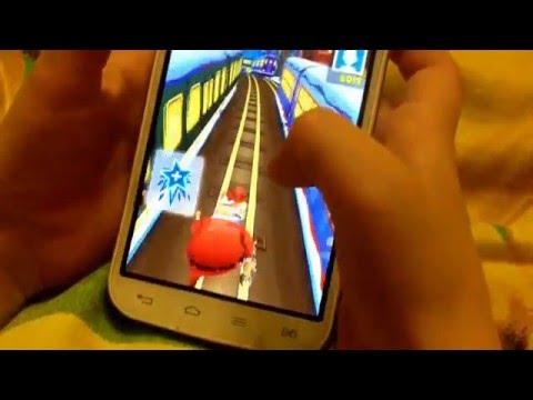 Обзор игры Subway surfers на телефоне