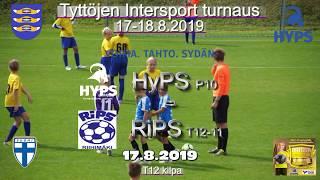 Tyttöjen Intersport-turnaus 2019 HyPS P10 vs RiPS T12/11