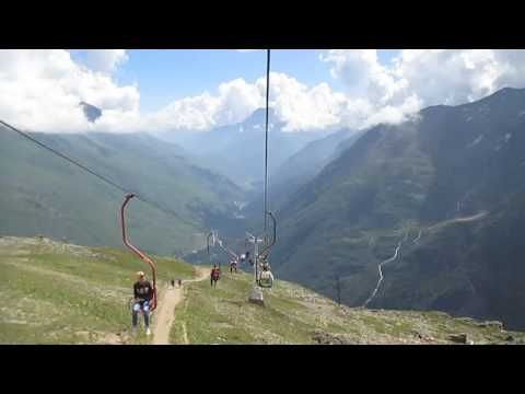 Приэльбрусье гора Чегет,  гора  Эльбрус. Северный Кавказ, Экскурсия.
