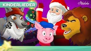 Jingle Bells Kinderlieder mit Feen Tiere | Weihnachtslieder | Gutenachtgeschichte für kinder
