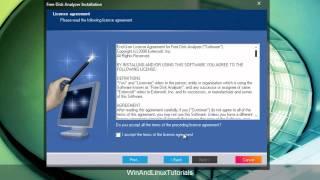 [Windows] Analyze the disk usage using Free Disk Analyzer.