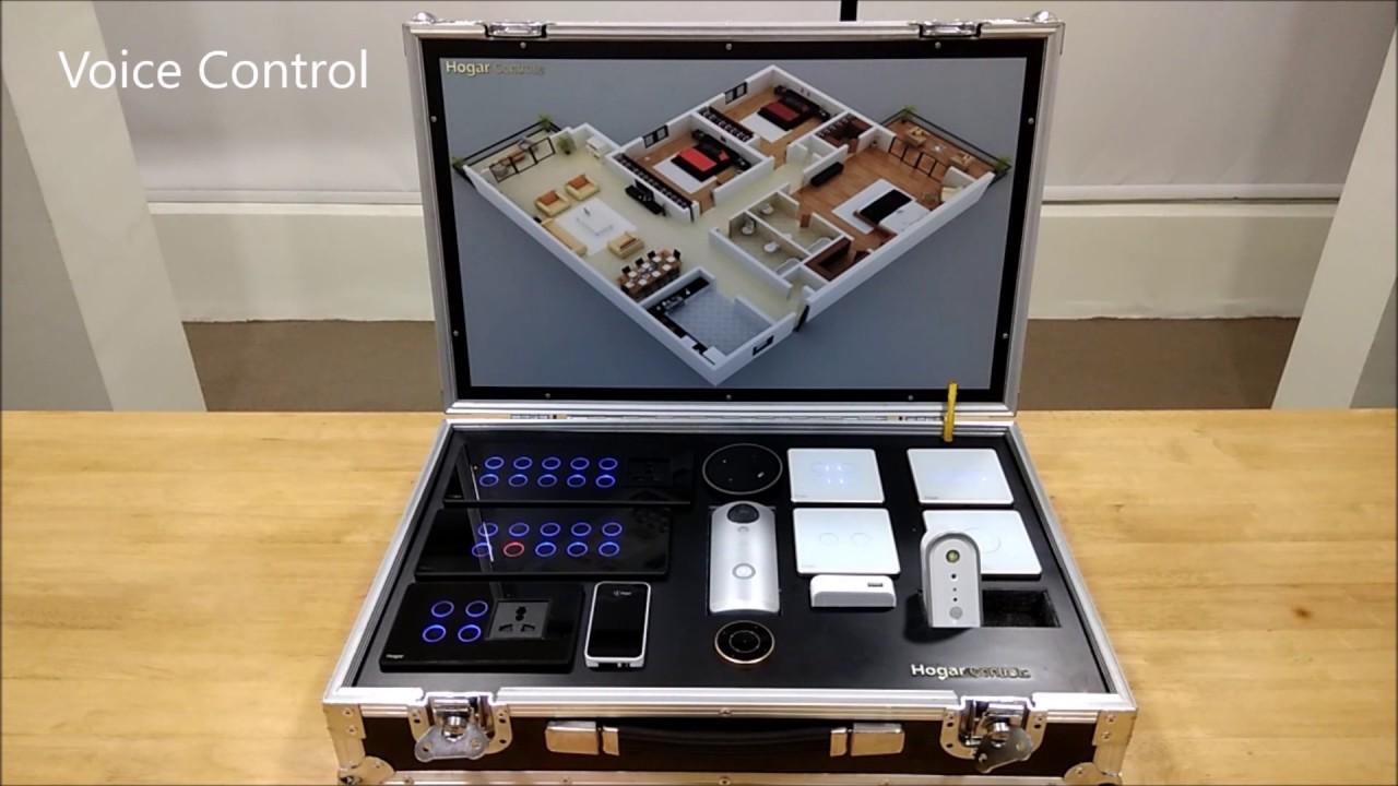 Z wave hogar controls demo kit for installer by