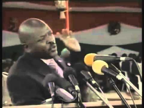 """Pierre Nkurunziza : """"Amatora azoba meza cane"""""""