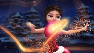 Merry christmas animated fairy cool whatsapp video -AtoZwishes