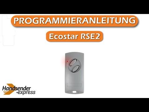 Very Wie programmiert man eine Fernbedienung Ecostar RSE2 - YouTube EC56