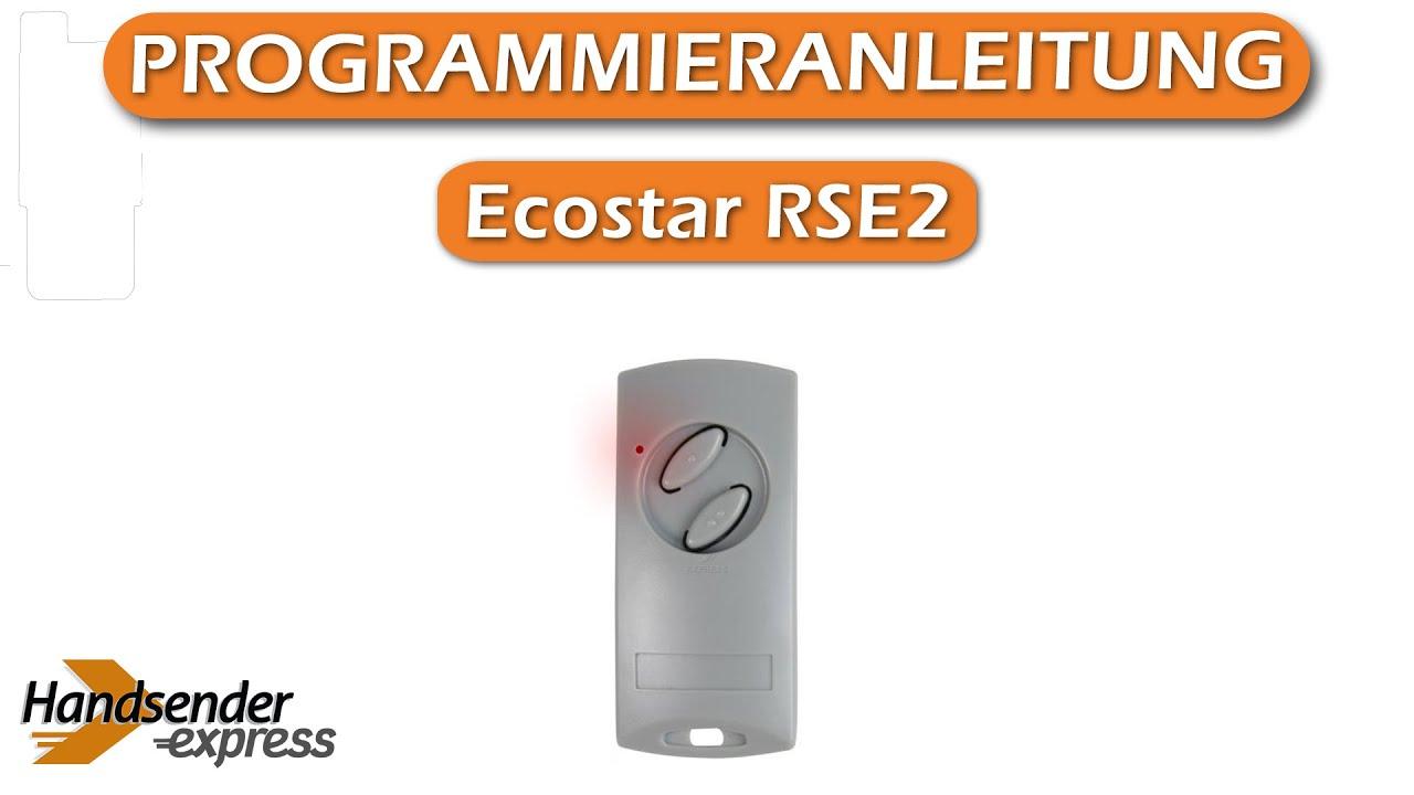 Handsender Hörmann Ecostar 40-2 Ecostar  40 Mhz Funksender Fernbedienung Sender