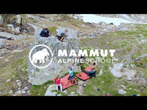 Mammut Alpine School - Bouldern