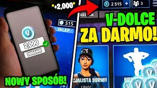 FREE V-DOLCE in FORTNITE! * NEW WAYS TO V-BUCKS FOR FREE?! GUIDE-GENERATOR